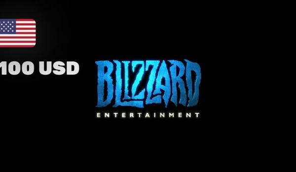 Blizzard GiftCard 100 USD Battle net NORTH AMERICA