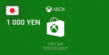 Buy XBOX Live Gift Card 1 000 YEN XBOX LIVE Key JAPAN Xbox Gift Card on Difmark.com