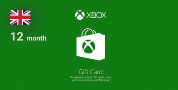 Buy Xbox Live GOLD Subscription Card XBOX LIVE UNITED KINGDOM 12 Months Xbox Gift Card on Difmark.com